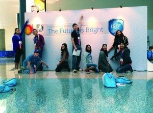 students attending the 2014 ISEF convention