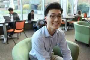 Student trustee, David Kook