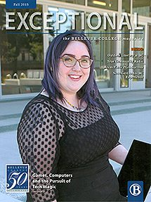 "Cover image of the fall 2015 edition of ""Exceptional"""