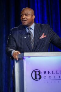 Bellevue College Foundation Become Exceptional Luncheon 2015: Seattle Seahawk Mack Strong.