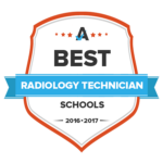 Badge for Radiology Technology Best School