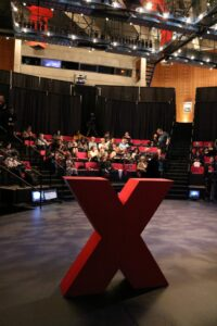 People starting to fill the Carlson Theater for TEDx