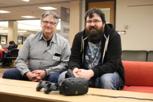 Photo of Bruce Wolcott and James Riggall