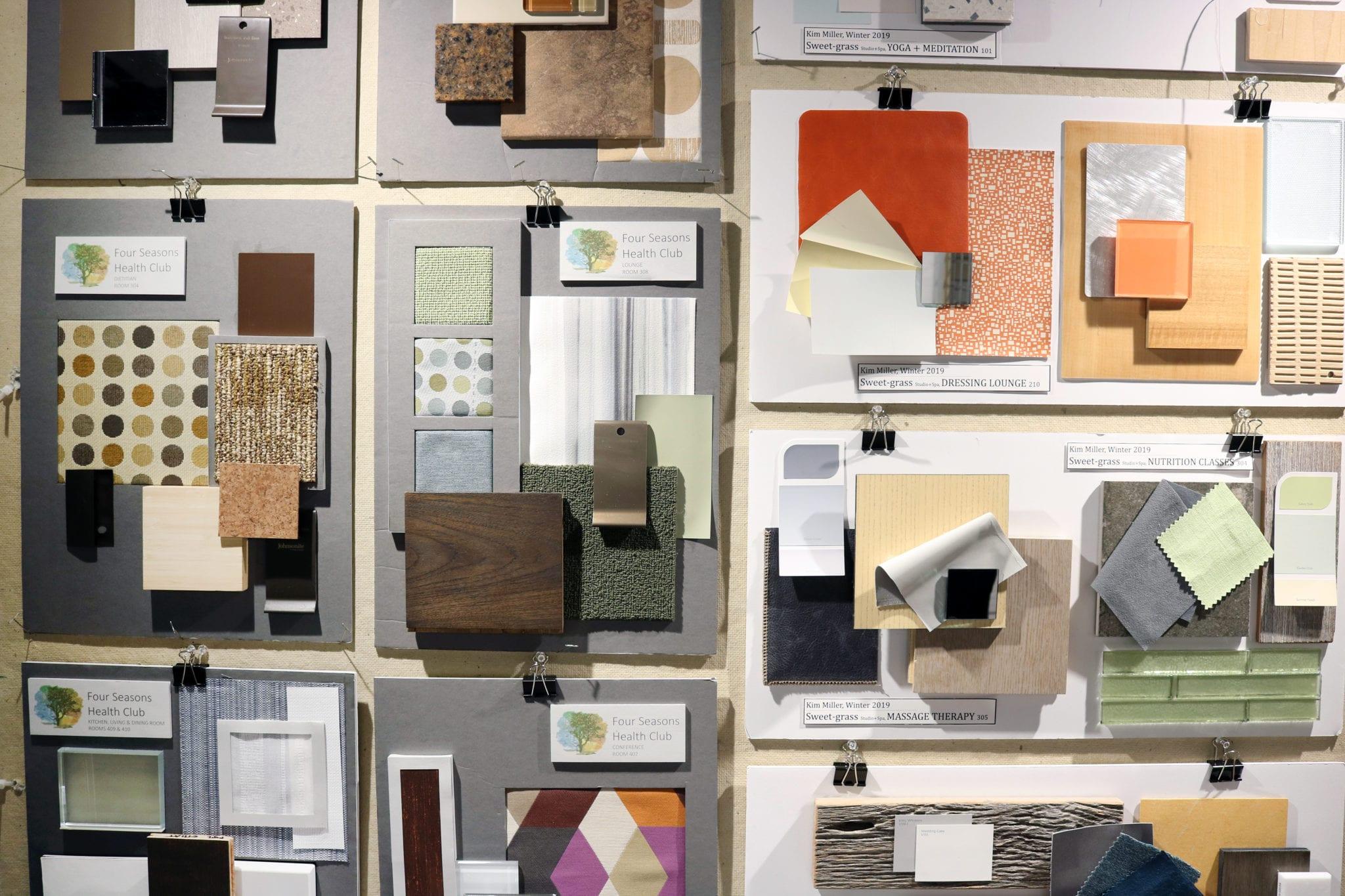exhibit from interior design showcase