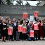 Bellevue College rallies for higher education funding