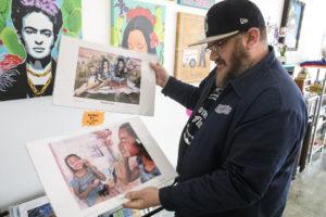 Artist Jake Prendez