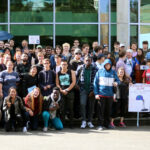 BC Students, Faculty and Staff Walkout for Climate Justice