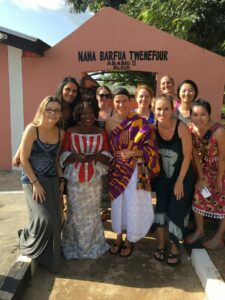 BC nursing students and faculty members in Ghana