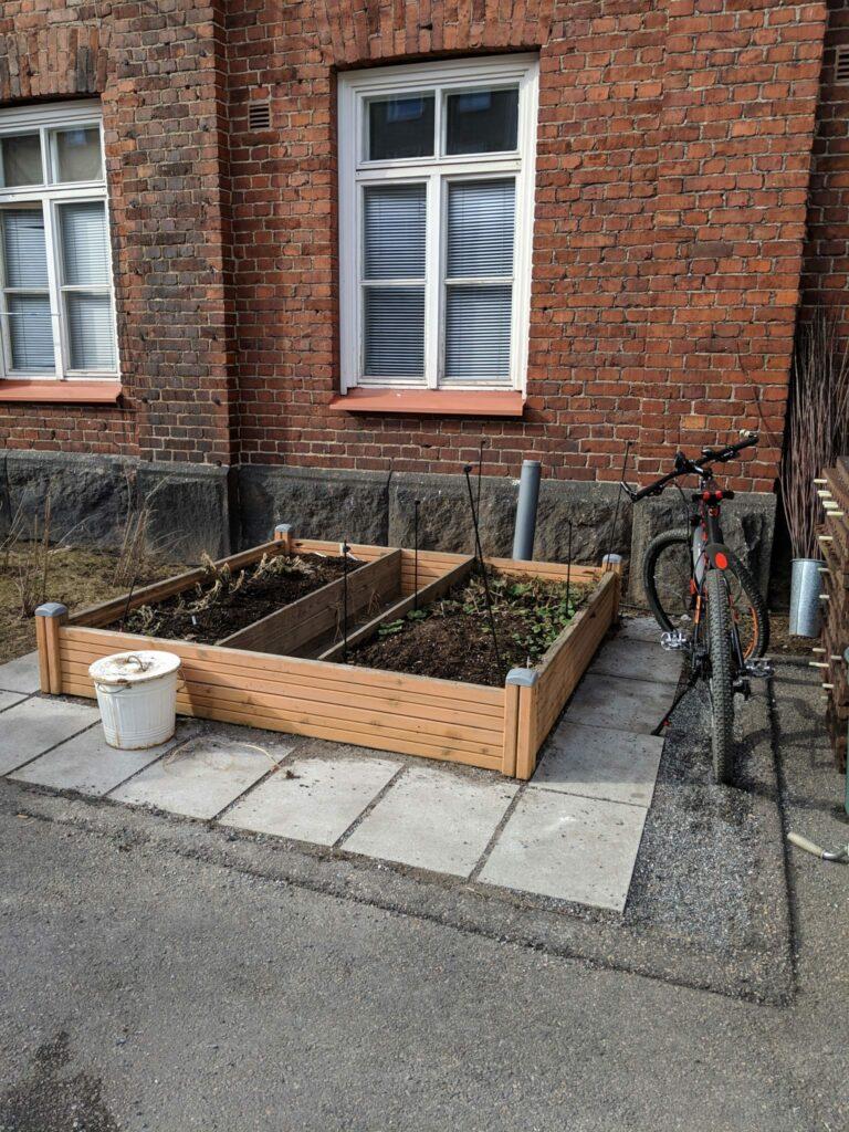 Exterior garden space