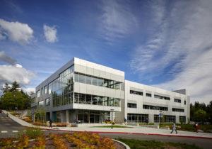 T Building exterior