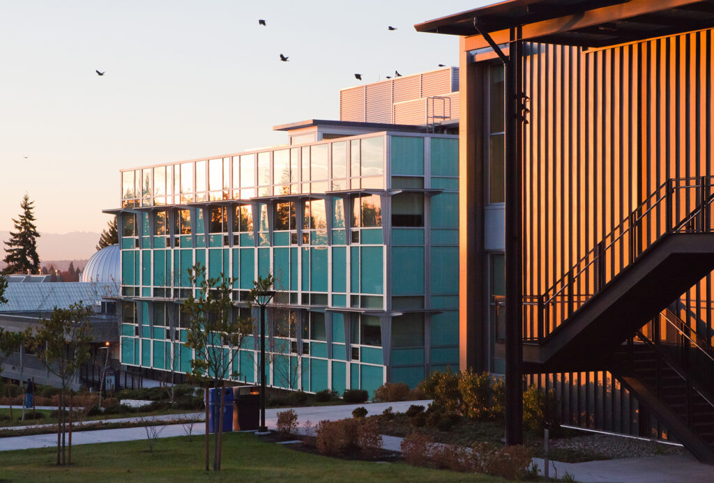 The S Building exterior