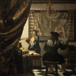 """Malkunst"" by Vermeer, painted in 1666"