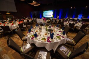 "Bellevue College ""Be Exceptional"" Luncheon 2014 at Meydenbauer Center."
