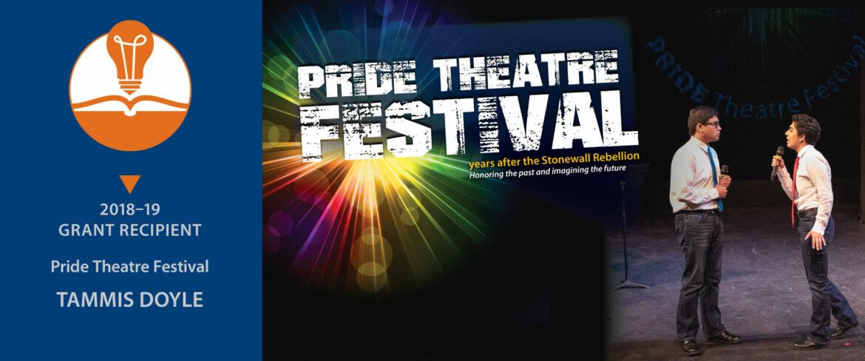 Pride Theatre Festival poster