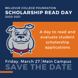Save the date invitation to participate in the scholarship read day