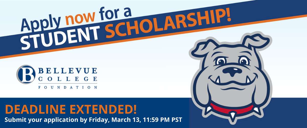 Scholarship deadline extended to Friday, March 13 by 11:59 PM PST