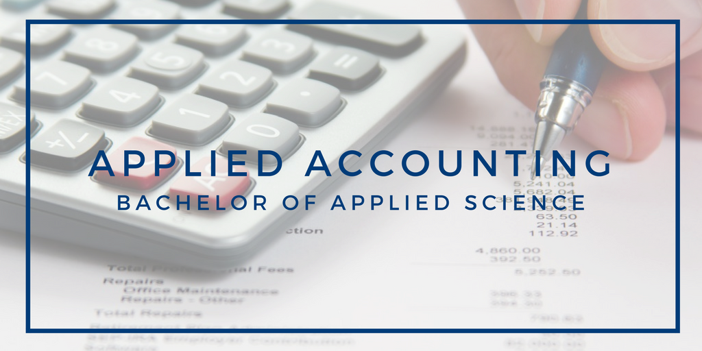 Applied Accounting, bachelor of applied science