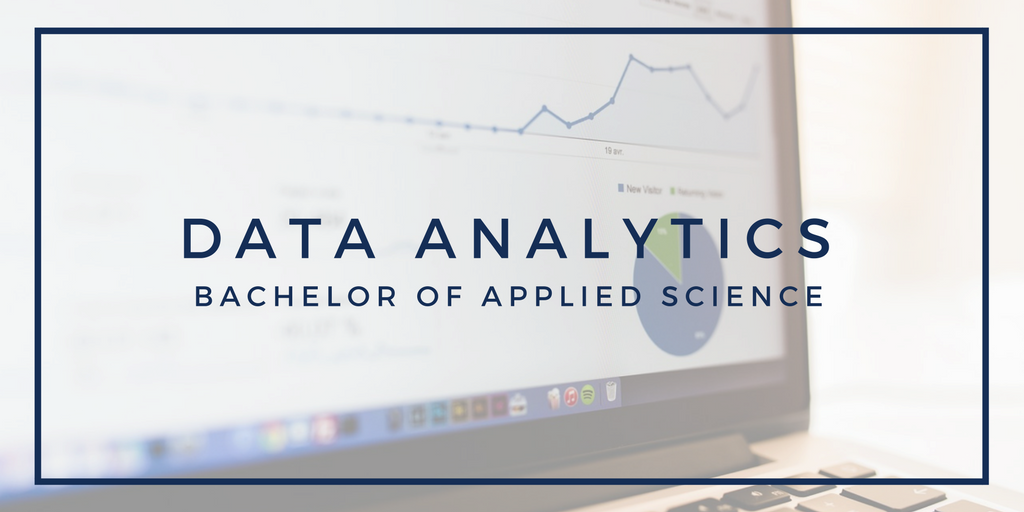 Data Analytics, bachelor of applied science.
