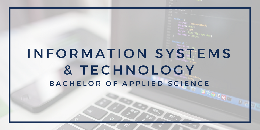 Information Systems and Technology, bachelor of applied science