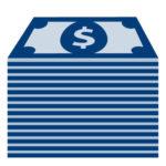 Stack of Money Icon