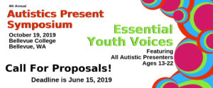Autistics Present Essential Youth Voices Call For Proposals click on image for full information