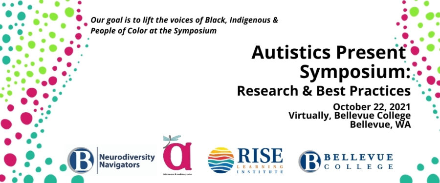Autistics Present Symposium: click on image to go to web page for full information