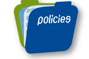 Folder that says policies
