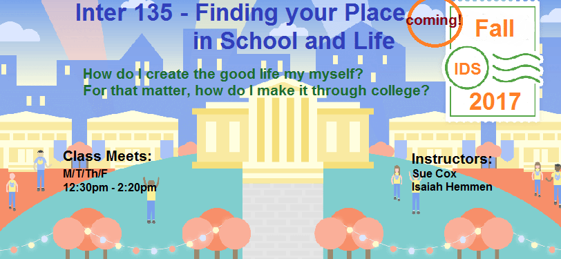 Inter 135 - Finding Your Place