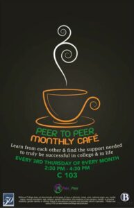 P2P monthly cafe