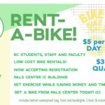 Rent a Bike at the PALS Center!