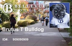 Brutus Bulldog Student ID Card