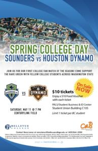 Sounders vs Houston Dynamo May 11