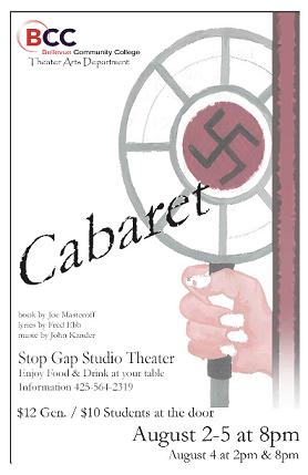 Cabaret_Poster :: Theatre Arts