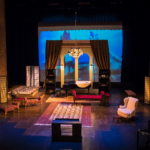 The Admirable Crichton stage set
