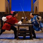 Three Musketeers dueling duo