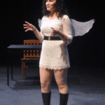 The Last Days of Judas Iscariot female character with angel wings