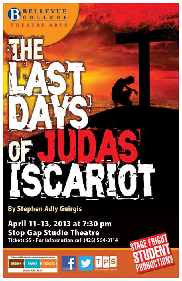 Last Days of Judas Iscariot Poster