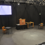 Last Days of Judas Iscariot Stage set