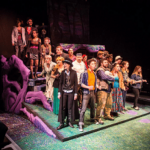Cast of Into the Woods singing
