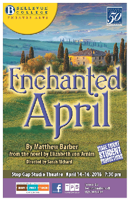 The poster of Enchanted April