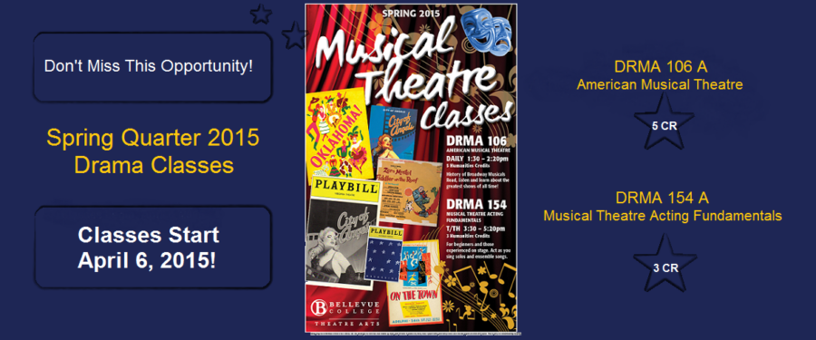 Musical Drama Classes Poster