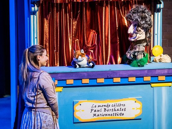 Puppet Scene in the play Carnival