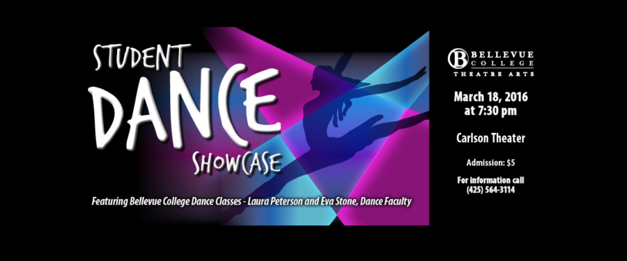 Student Dance Showcase poster
