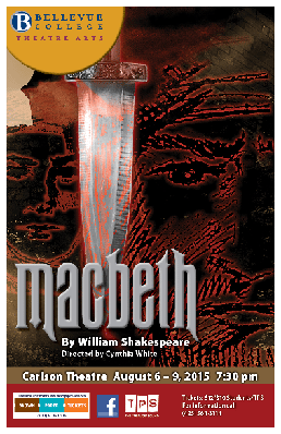 Macbeth performance flyer