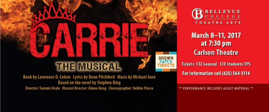 Carrie the Musical poster