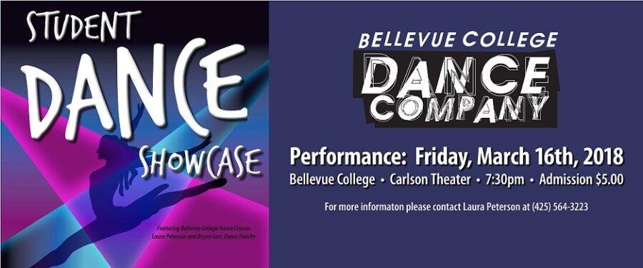 Student Dance Performance flyer
