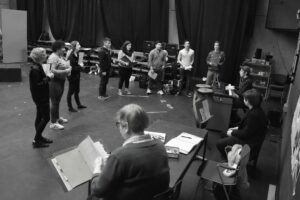 Cast rehearsal