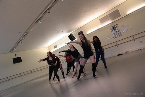 Rehearsal before performance