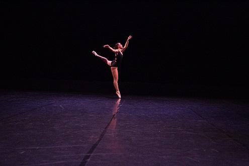 Ballet dance solo