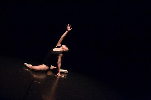 Ballet dance solo performance